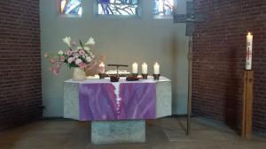 Altar Auferstehungskirche Oststeinbek