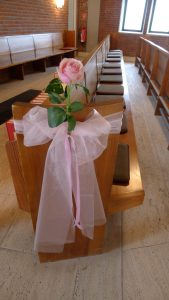 Trauung Rose